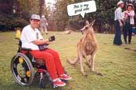 Wheelchair in Australia