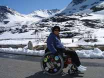 Wheelchair in Norway